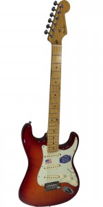 GUITARRA FENDER ELECTRICA AM DLX STRAT