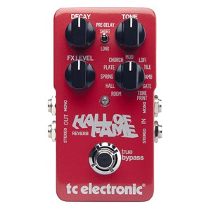 PEDAL T.C. P/GUITARRA HALL OF FAME REV.
