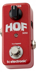 PEDAL T.C. P/GUITARRA HALL OF FAME MINI